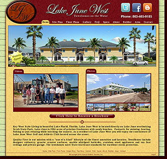Web Site Design Lake June West